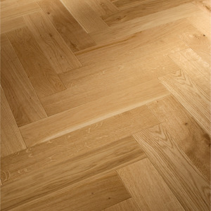 Parquet Meister Oak lively, 1-strip, lacquered PS400 Herringbone