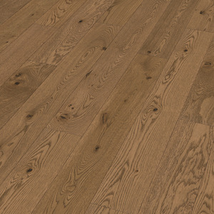 Parquet Meister Authentic brown-grey oak, brushed, 1-strip, naturally oiled PS300