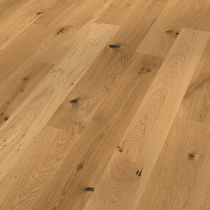 Parquet Meister oak lively, brushed, 1-strip, naturally oiled PS300