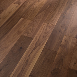 Parquet Meister American walnut lively, 1-strip, matt lacquered PS300