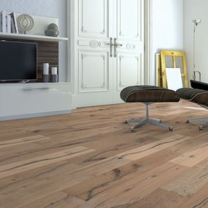 Parquet Oak Classic, 1-strip, brushed, invisible oiled
