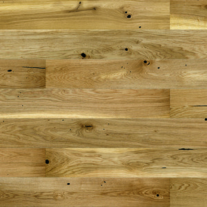 Parquet Oak, Piccolo Raisins, 1-strip, beveled, brushed, matt lacquer