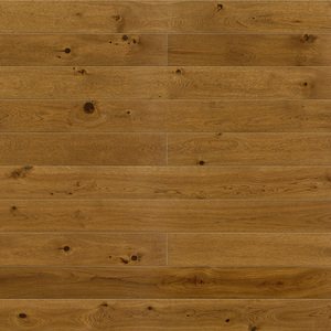 Parquet Oak, Piccolo Brown Sugar, 1-strip, beveled, stained, brushed, matt lacquer