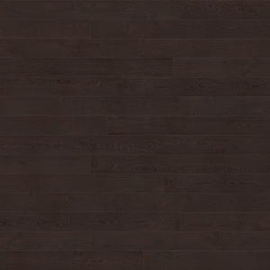 Parquet Oak, Piccolo Affogato, 1-strip, beveled, brushed, stained, matte lacquer