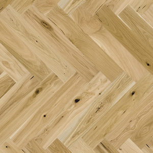 Parquet Oak, Piccolo Grand Canyon, 1-strip, beveled, brushed, natural oil, herringbone
