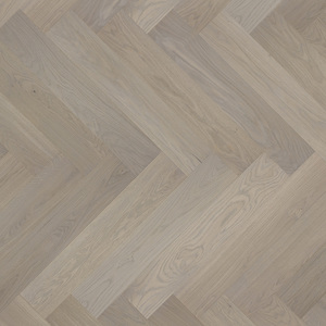 Parquet Oak, Piccolo Marzipan Muffin, 1-strip, beveled, brushed, stained, matt lacquer, herringbone