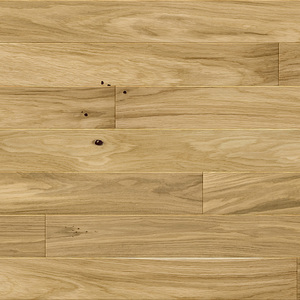 Parquet Oak, Medio Caramel, 1-strip, beveled, brushed, matt lacquer