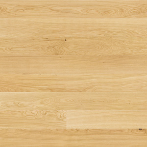 Parquet Oak, Medio Mersey, 1-strip, beveled, brushed, unfinished, natural oil