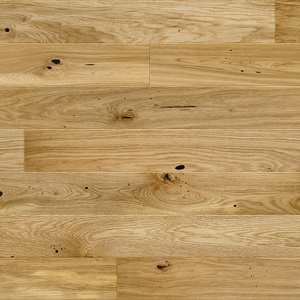 Parquet Oak, Medio Raisins, 1-strip, beveled, brushed, matt lacquer