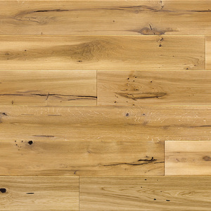 Parquet Oak, Medio Madeira, 1-strip, beveled, brushed, matt lacquer