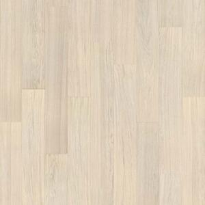 Parquet Tarkett, Viva, Oak Off-White, 1-strip, 4 sides bevelled, brushed, Proteco Natura mat lacquer