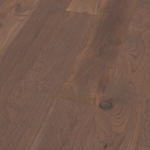 Parquet Oak Classic Dark, 1-strip, brushed, invisible oiled