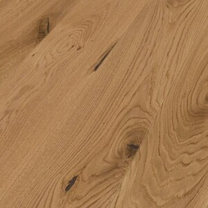 Parquet Weitzer Oak Charisma Rustic, 1-strip, brushed, matt lacquered