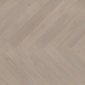 Parquet Oak, ter Hürne, Oak light grey, brushed, beveled, extra matt lacquered