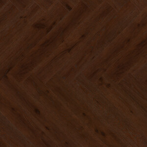 Parquet Oak, ter Hürne, herringbone, Oak red brown, brushed, beveled, extra matt lacquered