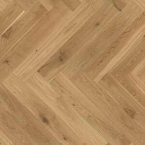 Parquet Oak, ter Hürne, oak herringbone, brushed, beveled, matt lacquered