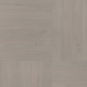 Parquet Oak, ter Hürne, Oak grey, brushed, beveled, extra matt lacquered