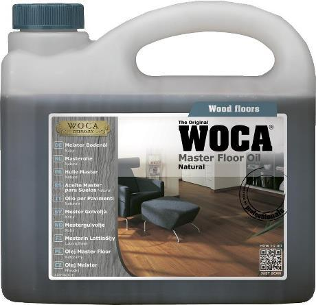 Põrandaõli WOCA Master Floor Oil Natural 2,5L