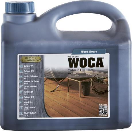 Toonõli WOCA Colour Oil Black (must) Nr. 120 2,5L