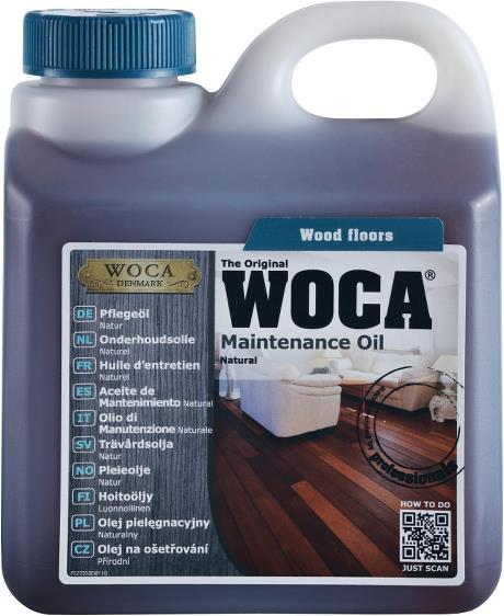 Hooldusõli WOCA Maintenance Oil Black (must)