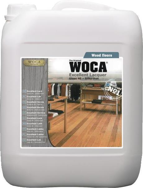 WOCA Excellent Wood Floor Lacquer - Gloss 40 5L FI