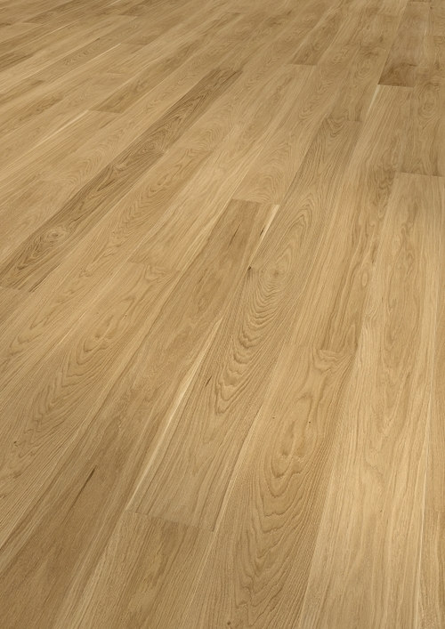 Parquet oak, Harmony, bevelled (4V), scraped, oiled finish