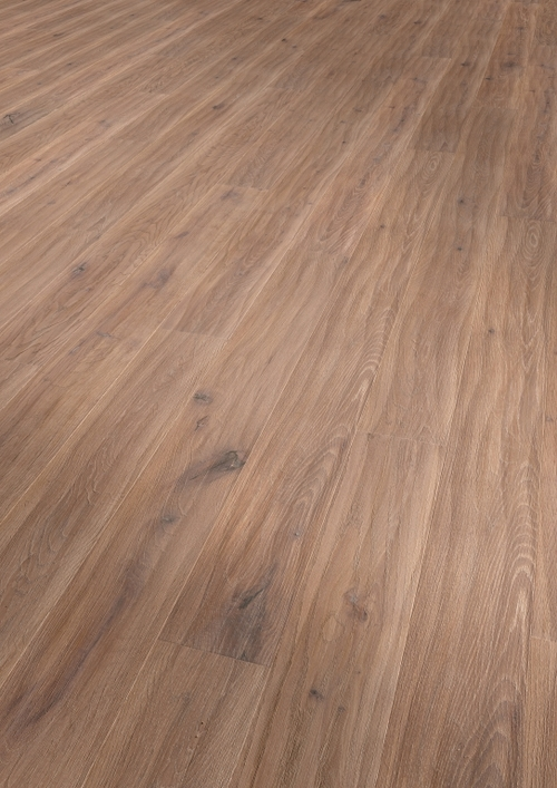 Parquet oak Caramel Iceland, Alpin, bevelled (4V), scraped, thermal treated, oiled finish