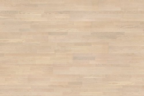Parquet Tarkett, Shade, Oak Cotton White TreS, 3-strip, stained, Proteco Natura mat lacquer
