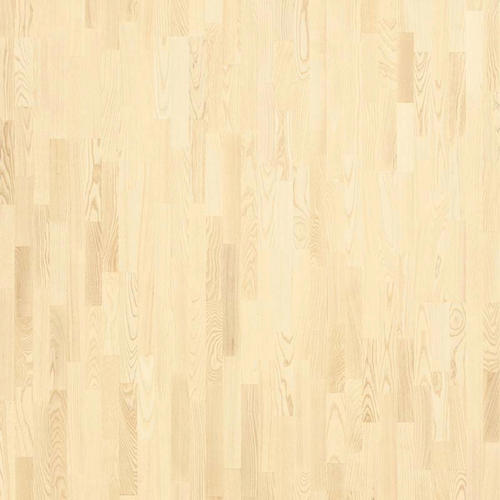 Parquet Tarkett, Shade, Ash Linen White TreS, 3-strip, stained, Proteco Natura mat lacquer