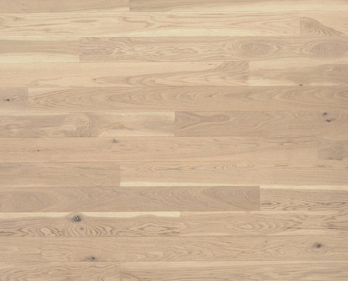 Parquet Tarkett, Shade, Oak Antique White Plank, 1-strip, 2 sides bevelled, brushed, stained, Proteco Natura mat lacquer