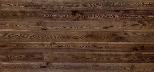 Parquet Ash, Grande Coffee, 1-strip, brushed, stained, semi-glossy lacquer