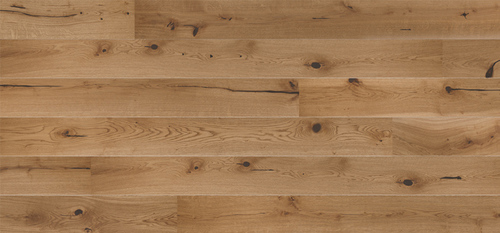 Parquet Oak, Senses Excite, 1-strip, beveled, brushed, stained, natural oil