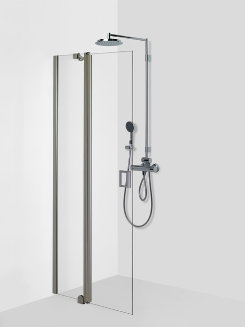 Shower wall with turning part FENIC 314 ru