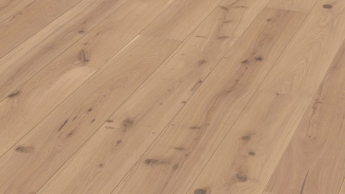 Parquet Caramel rustic oak, brushed, 1-strip, naturally oiled