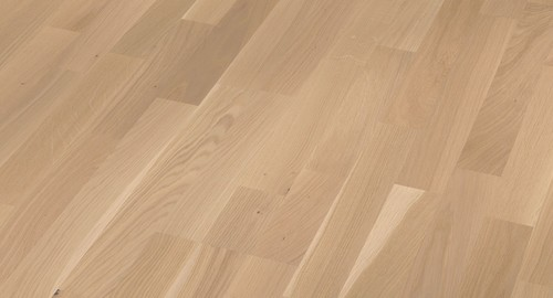Parkett Tamm Off-white oak lively, 3-lipiline, harjatud, õli