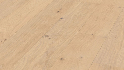 Parquet Pure Oak lively Meister, 1-strip, brushed, naturally oiled