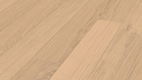 Parquet White oak lively Meister, 1-strip, brushed, naturally oiled