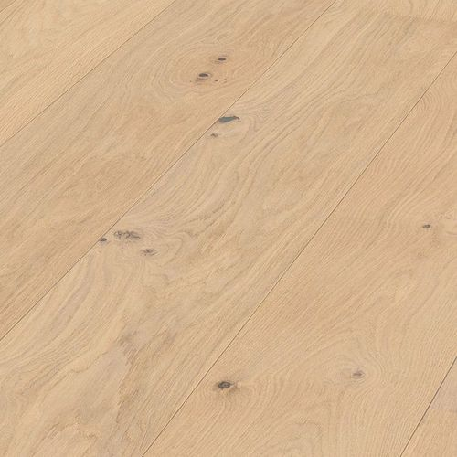 Parquet Pure Oak lively Meister, 1-strip, brushed, naturally oiled 260 mm