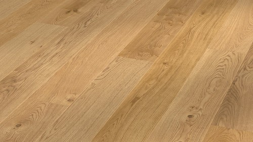 Parquet Meister oak lively, brushed, 1-strip, naturally oiled