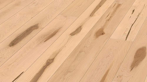 Parquet Meister Canadian maple lively, 1-strip, matt lacquered PD400