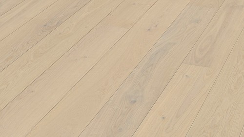 Parquet Meister Cream oak lively, 1-strip, brushed, matt lacquered PD400