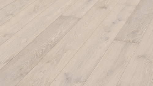 Parquet Meister Limed white oak lively, 1-strip, brushed, matt lacquered PD400