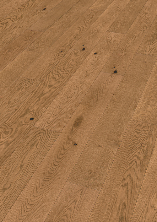 Parquet Meister Authentic golden brown oak, brushed, 1-strip, naturally oiled PS300