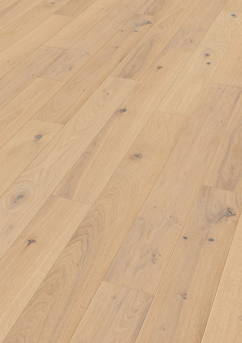 Parquet Meister Pure oak lively, brushed, 1-strip, naturally oiled PS300